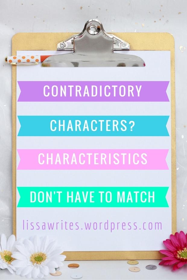 contradictory characteristics